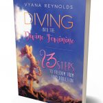Diving into the Divine Feminine book standing upright
